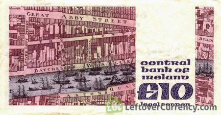 10 Irish Pounds banknote (Jonathan Swift)