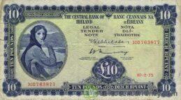 10 Irish Pounds banknote (Lady Hazel Lavery)