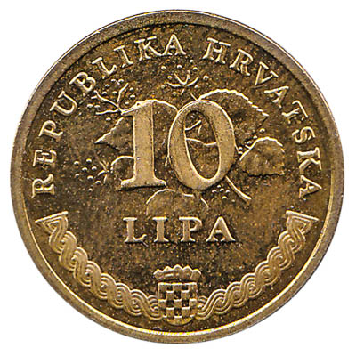 10 Lipa coin Croatia
