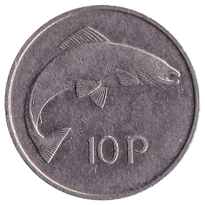 10 Pence coin Ireland