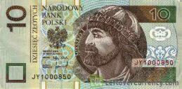 10 Polish Zloty banknote (Prince Mieszko I)