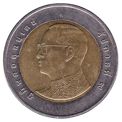10 Thai Baht coin