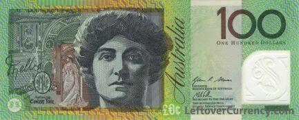 100 Australian Dollars banknote (Dame Nellie Melba)