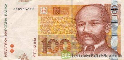100 Croatian Kuna banknote series 2002