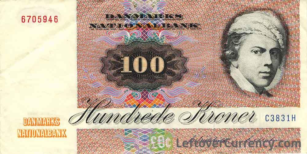 100 Danish Kroner banknote (Jens Juel)