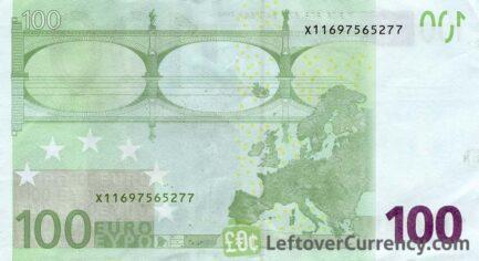 100 Euros banknote (First series)