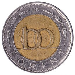 100 Hungarian Forints coin