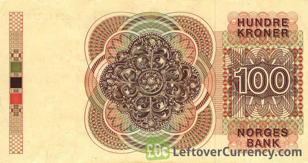 100 Norwegian Kroner banknote (Camilla Collett)