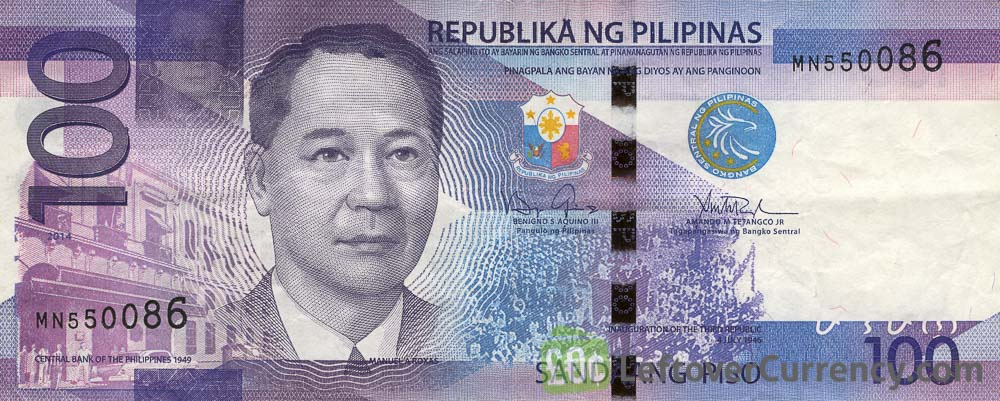 100 Philippine Peso banknote (2010 series)
