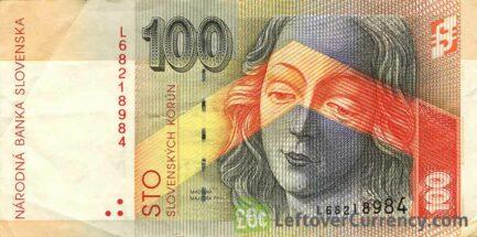 100 Slovak Koruna banknote (Levoca)