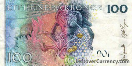 100 Swedish Kronor banknote (Carl von Linne)