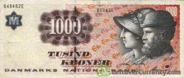 1000 Danish Kroner banknote (Michael Ancher)