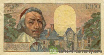 1000 French Francs banknote (Richelieu)