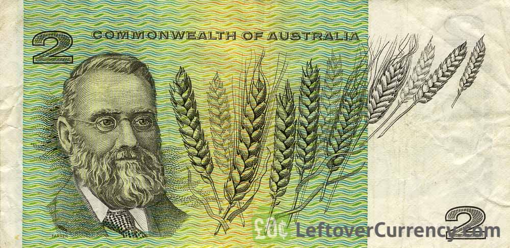 2 Australian Dollars banknote (Commonwealth of Australia)