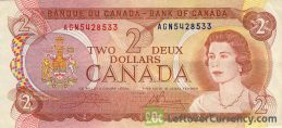 2 Canadian Dollars banknote (inuit Scenes of Canada)