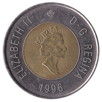2 Canadian Dollars coin (toonie)