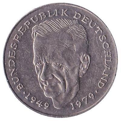 2 Deutsche Marks coin