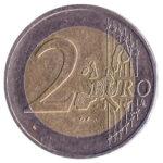 2 Euros coin