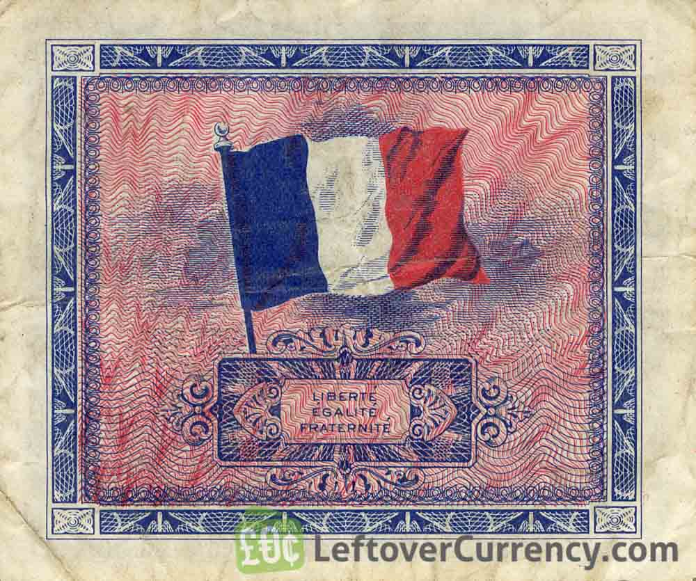 2 French Francs banknote (Allied Military Currency 1944)