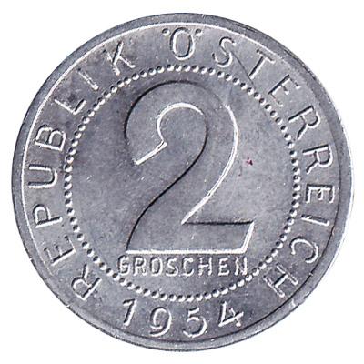 2 Groschen coin Austria
