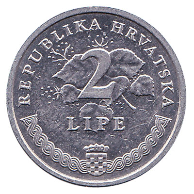 2 Lipa coin Croatia