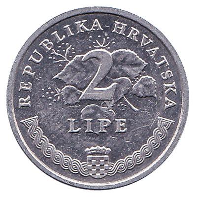 2 Lipa coin Croatia
