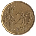 20 cents Euro coin