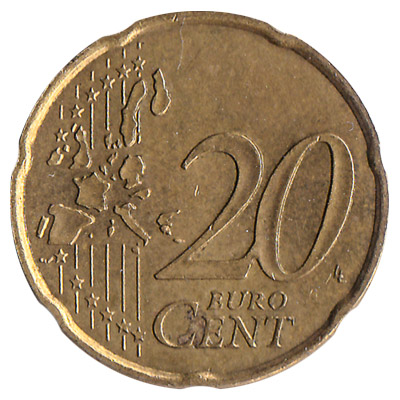 20 cents euro coin exchange yours for cash today. Black Bedroom Furniture Sets. Home Design Ideas