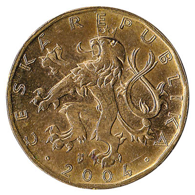 20 Czech Koruna coin
