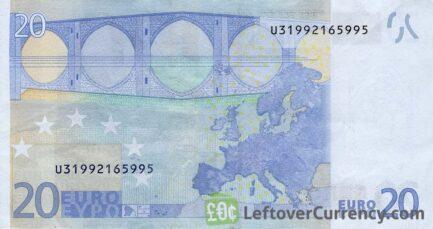 20 Euros banknote (First series)