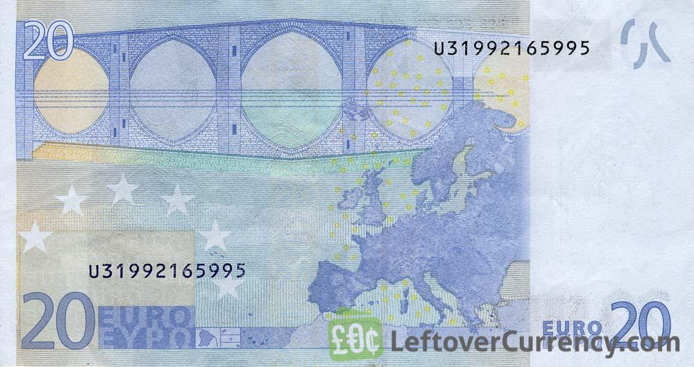 20 Euros In Dollars
