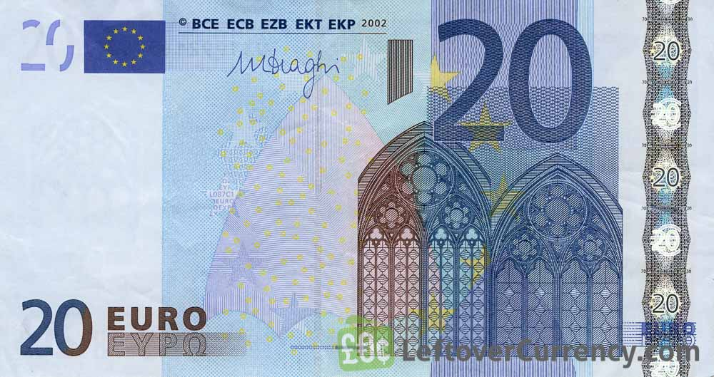 20 Euros banknote (First series)