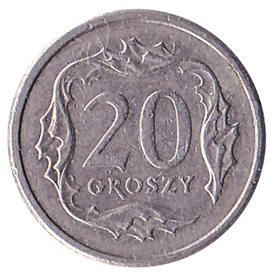 20 Groschen coin Poland