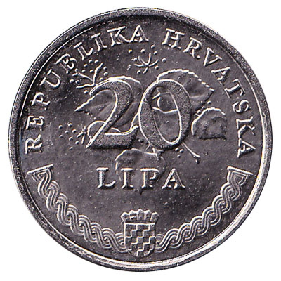 20 Lipa coin Croatia