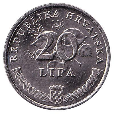 20 Lipa coin Croatia
