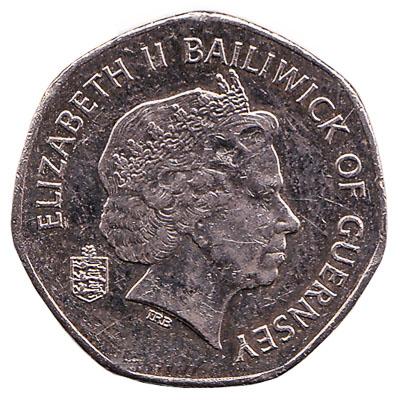 20 Pence coin Guernsey