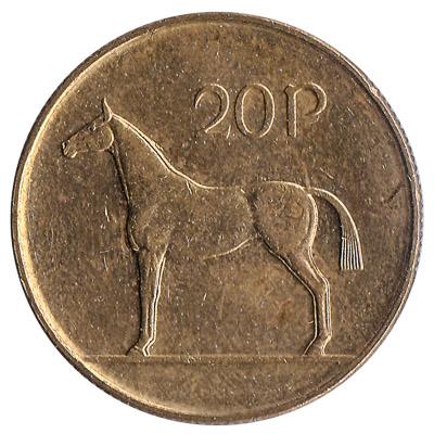 20 Pence coin Ireland
