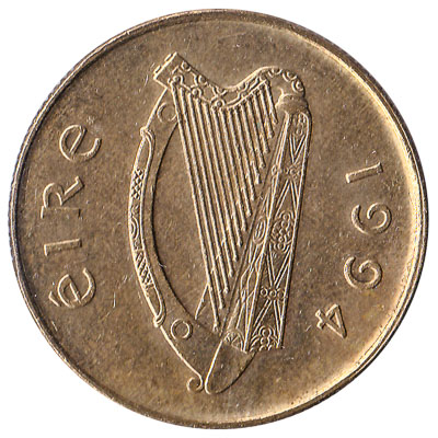 20 Pence coin Ireland