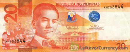 20 Philippine Peso banknote (2010 series)