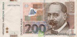 200 Croatian Kuna banknote series 2002