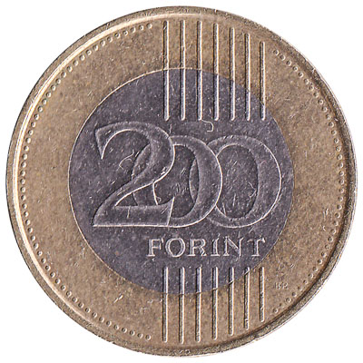 200 Hungarian Forints coin
