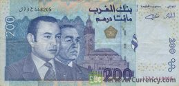 200 Moroccan Dirhams banknote (2002 issue)