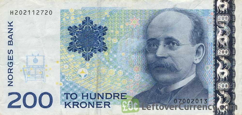 200 Norwegian Kroner Kristian Birkeland Exchange Yours Today