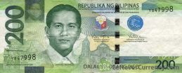 200 Philippine Peso banknote (2010 series)