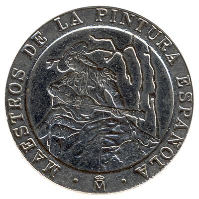 200 Spanish Pesetas coin