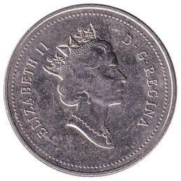 5 Cents coin Canada (nickel)