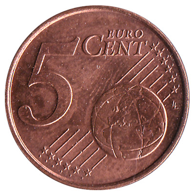 5 cents Euro coin