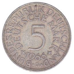 5 Deutsche Marks coin (type 1951)
