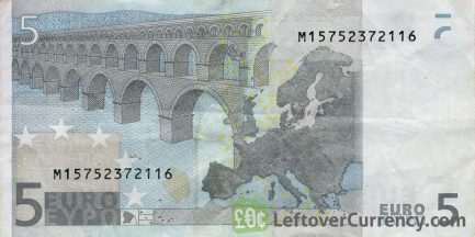 5 Euros banknote (First series)