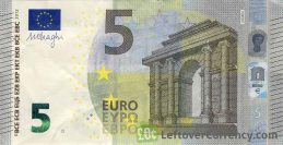 5 Euros banknote (Second series)